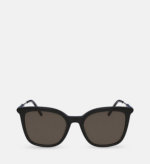 Rectangle Sunglasses CK3204S - BLACK - CALVIN KLEIN  - main image