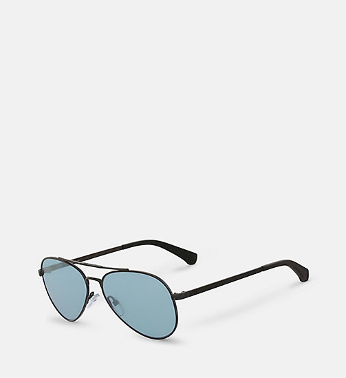 Aviator Sunglasses CKJ151S - MATTE BLACK - CK JEANS SHOES & ACCESSORIES - detail image 1