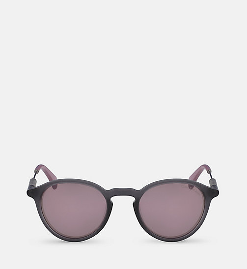 CKJEANS Round Sunglasses CKJ489S - MATTE CRYSTAL - CK JEANS SHOES & ACCESSORIES - main image