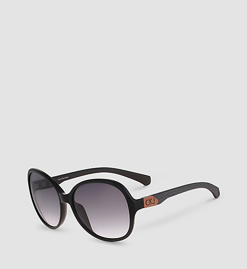 CKJEANS Round Sunglasses CKJ778S - BLACK/SMOKE GRADIENT - CK JEANS SUNGLASSES - main image