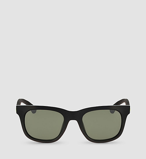 CALVIN KLEIN JEANS Rectangle Sunglasses CKJ787S - BLACK/SOLID G-15 - CALVIN KLEIN JEANS SUNGLASSES - detail image 1
