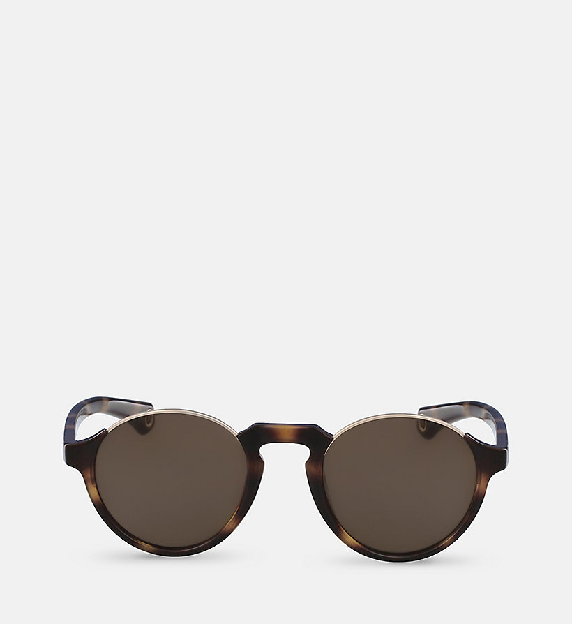 CKJEANS Round Sunglasses CKJ794S - MILKY GRAY - CK JEANS SHOES & ACCESSORIES - main image