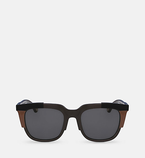 CKJEANS Square Sunglasses CKJ797S - BLACK - CK JEANS SUNGLASSES - main image