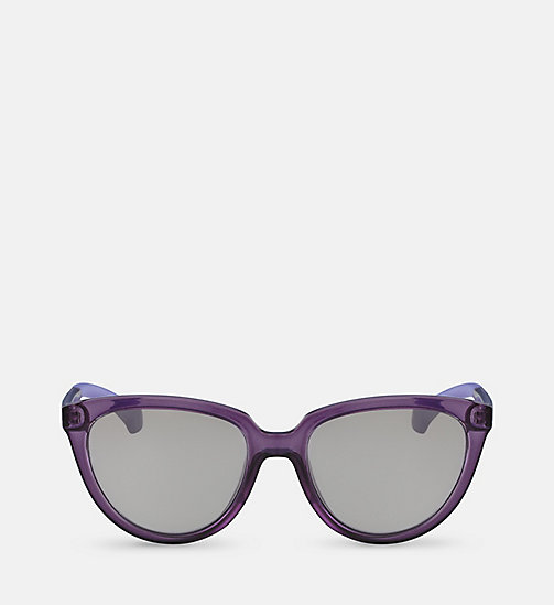 Cat Eye Sunglasses CKJ802S - MATTE CRYSTAL - CK JEANS  - main image