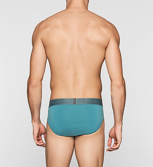 CALVINKLEIN Hip Briefs - Iron Strength - LARKSPUR - CALVIN KLEIN BRIEFS - detail image 1