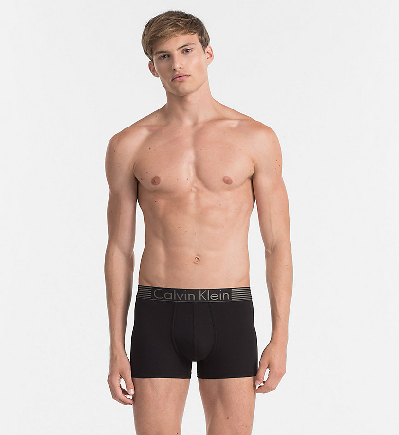 CALVINKLEIN Trunks - Iron Strength - BLACK - CALVIN KLEIN MEN - main image