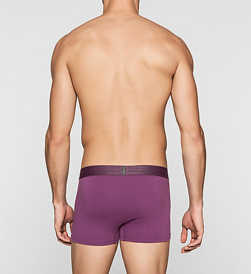 CALVINKLEIN Trunks - Iron Strength - ALLIUM PURPLE - CALVIN KLEIN MEN - detail image 1