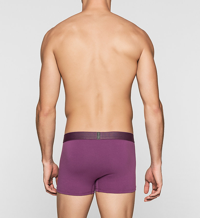 CALVINKLEIN Trunks - Iron Strength - ALLIUM PURPLE - CALVIN KLEIN UNDERWEAR - detail image 1