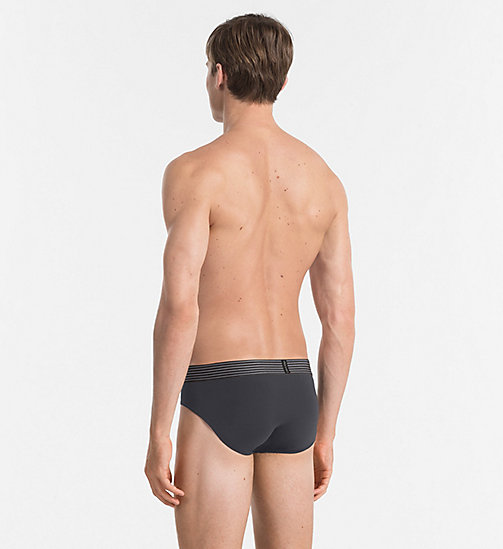 CALVINKLEIN Hip Briefs - Iron Strength - ASHFORD GREY - CALVIN KLEIN MEN - detail image 1