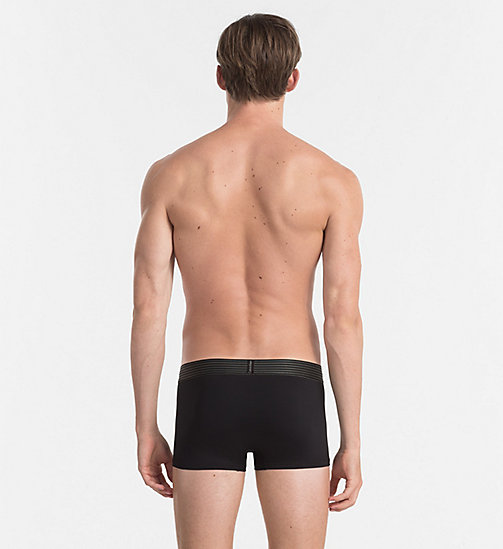 CALVINKLEIN Low Rise Trunks - Iron Strength - BLACK - CALVIN KLEIN TRUNKS - detail image 1