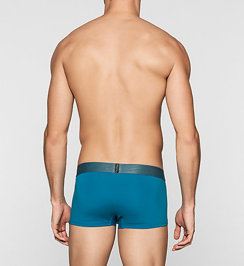 CALVINKLEIN Low Rise Trunks - Iron Strength - BLUE PULSE - CALVIN KLEIN TRUNKS - detail image 1