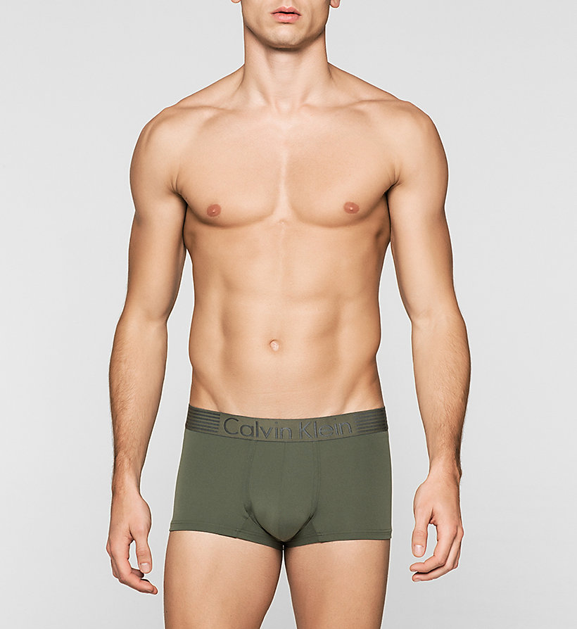 CALVINKLEIN Boxer taille basse - Iron Strength - HUNTER - CALVIN KLEIN SOUS-VÊTEMENTS - image principale