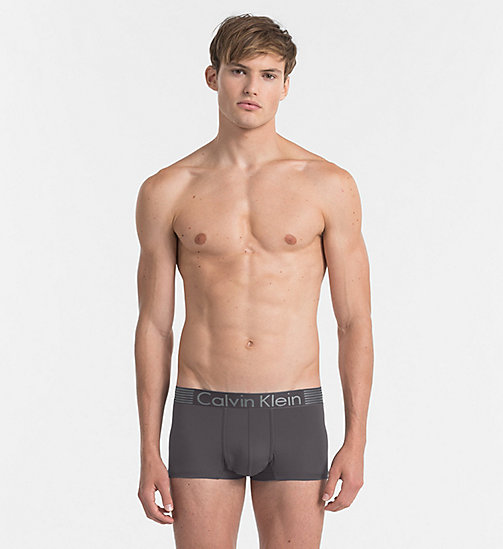CALVINKLEIN Low Rise Trunks - Iron Strength - ASHFORD GREY - CALVIN KLEIN TRUNKS - main image