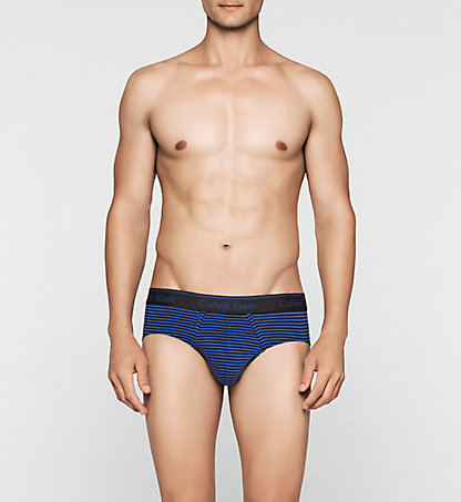 CALVIN KLEIN Hip Briefs - Classic Stripe 000NB1026A1IA