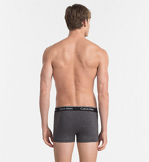 CALVINKLEIN Trunks - Classic Stripe - LINEAR STRIPE BLACK - CALVIN KLEIN UNDERWEAR - detail image 1