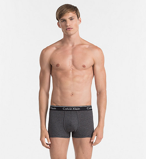 CALVINKLEIN Trunks - Classic Stripe - LINEAR STRIPE BLACK - CALVIN KLEIN UNDERWEAR - main image
