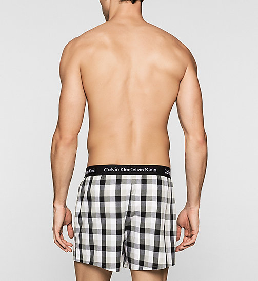 CALVINKLEIN 2 Pack Boxers - LONDON PLAID/BLACK-HEINE STRI - CALVIN KLEIN MULTIPACKS - detail image 1