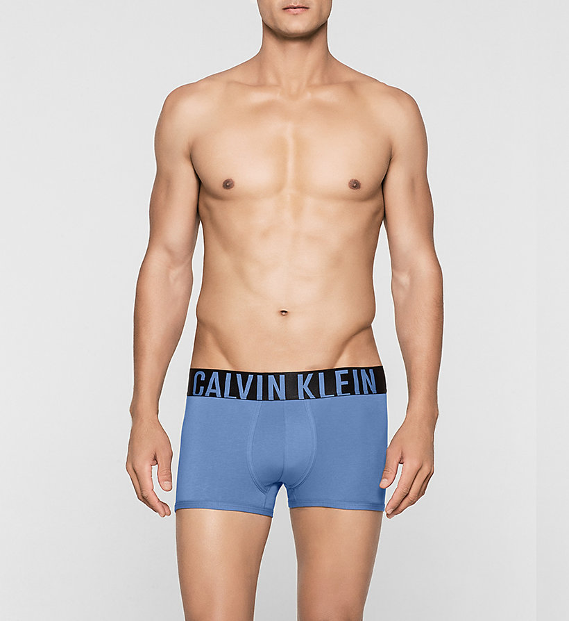 CALVINKLEIN Trunks - Intense Power - VICTORIAN BLUE - CALVIN KLEIN UNDERWEAR - main image