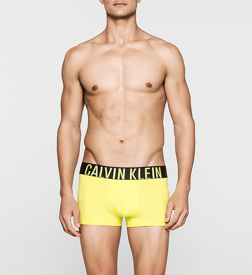 CALVINKLEIN Trunks - Intense Power - LIGHTENING YELLOW - CALVIN KLEIN UNDERWEAR - main image