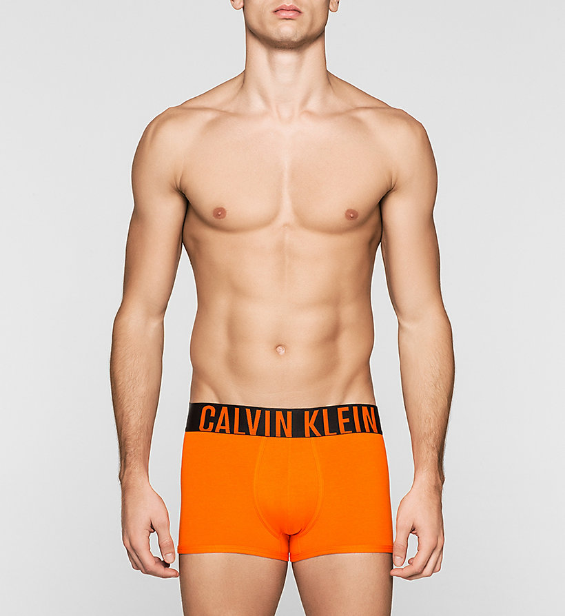 CALVINKLEIN Trunks - Intense Power - CALLA ORANGE - CALVIN KLEIN UNDERWEAR - main image