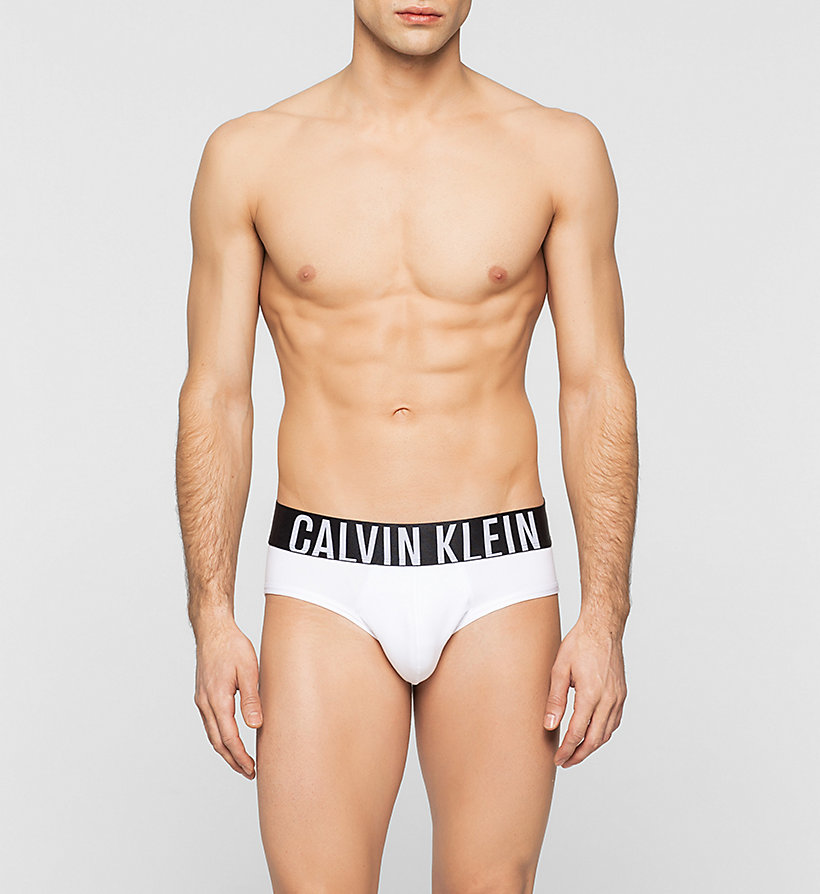 CALVINKLEIN Hip Briefs - Intense Power - WHITE - CALVIN KLEIN UNDERWEAR - main image