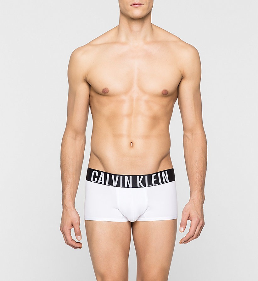 CALVINKLEIN Low Rise Trunks - Intense Power - WHITE - CALVIN KLEIN MEN - main image