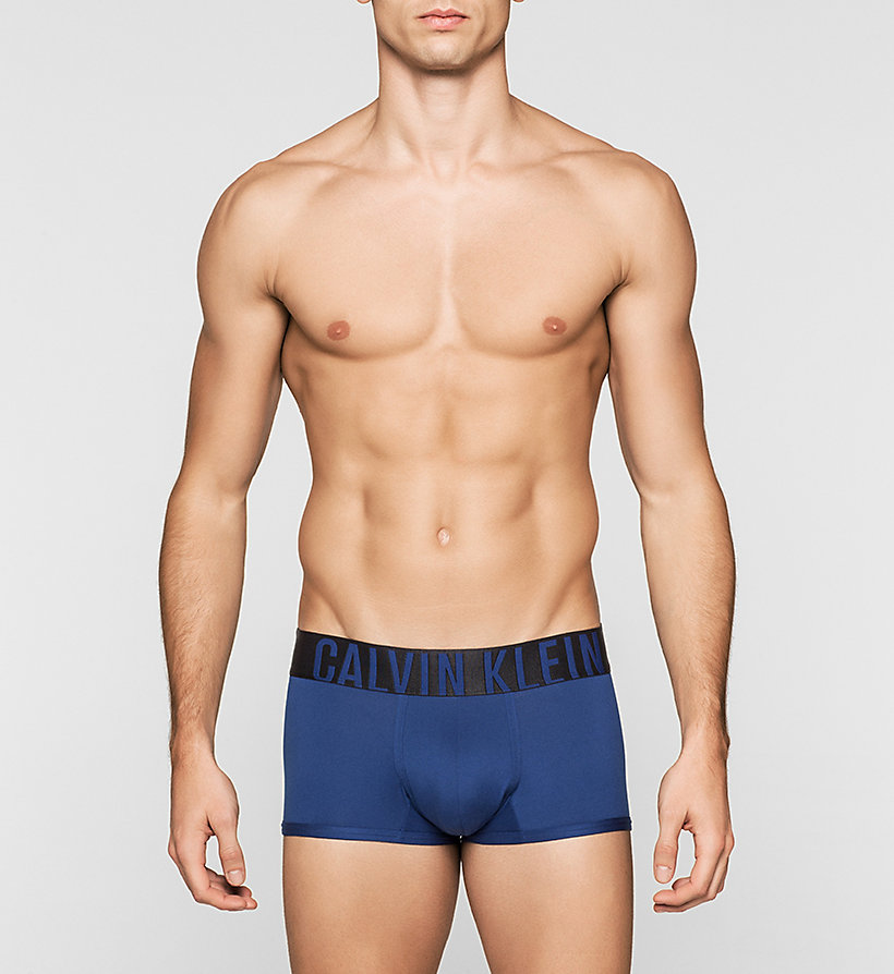 CALVINKLEIN Low Rise Trunks - Intense Power - BLACK - CALVIN KLEIN UNDERWEAR - main image