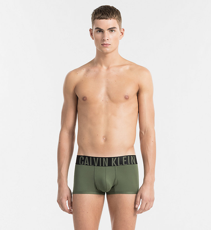 CALVINKLEIN Low Rise Trunks - Intense Power - HUNTSMAN - CALVIN KLEIN MEN - main image