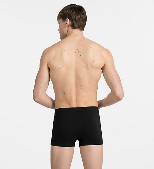 Boxer - Pima Cotton - BLACK - CALVIN KLEIN HEREN - detail image 1