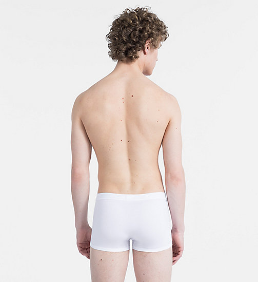 CALVINKLEIN Trunks - Pima Cotton - WHITE - CALVIN KLEIN TRUNKS - detail image 1