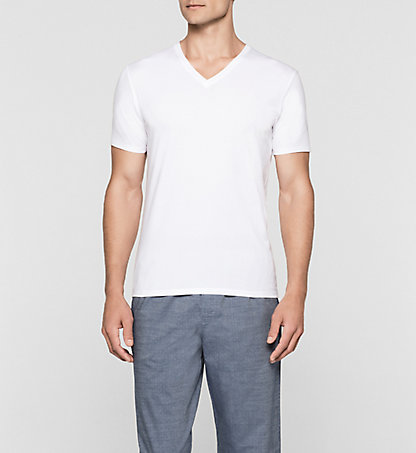 CALVIN KLEIN T-shirt - Pima Cotton 000NB1068A100