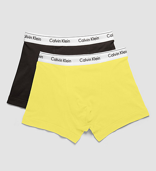 CALVINKLEIN 2 Pack Trunks - Modern Cotton - BLACK / REBEL - CALVIN KLEIN MEN - detail image 1