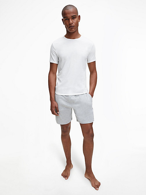 CALVINKLEIN 2 Pack T-shirts - Modern Cotton - WHITE - CALVIN KLEIN NIGHTWEAR & LOUNGEWEAR - detail image 1