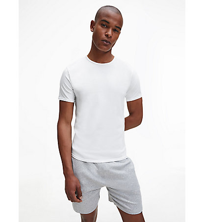 CALVIN KLEIN 2 Pack T-shirts - Modern Cotton 000NB1088A100