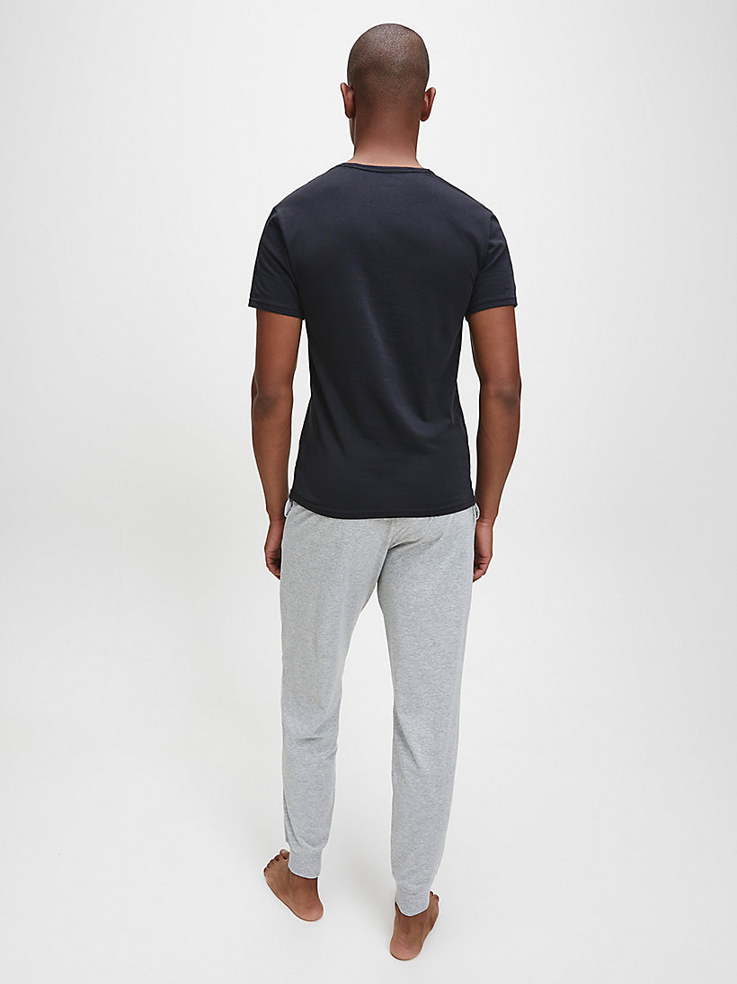 CALVINKLEIN 2 Pack T-shirts - Modern Cotton - BLACK - CALVIN KLEIN MEN - detail image 2