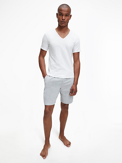 2-pack T-shirts - Modern Cotton - WHITE - CALVIN KLEIN HEREN - detail image 1