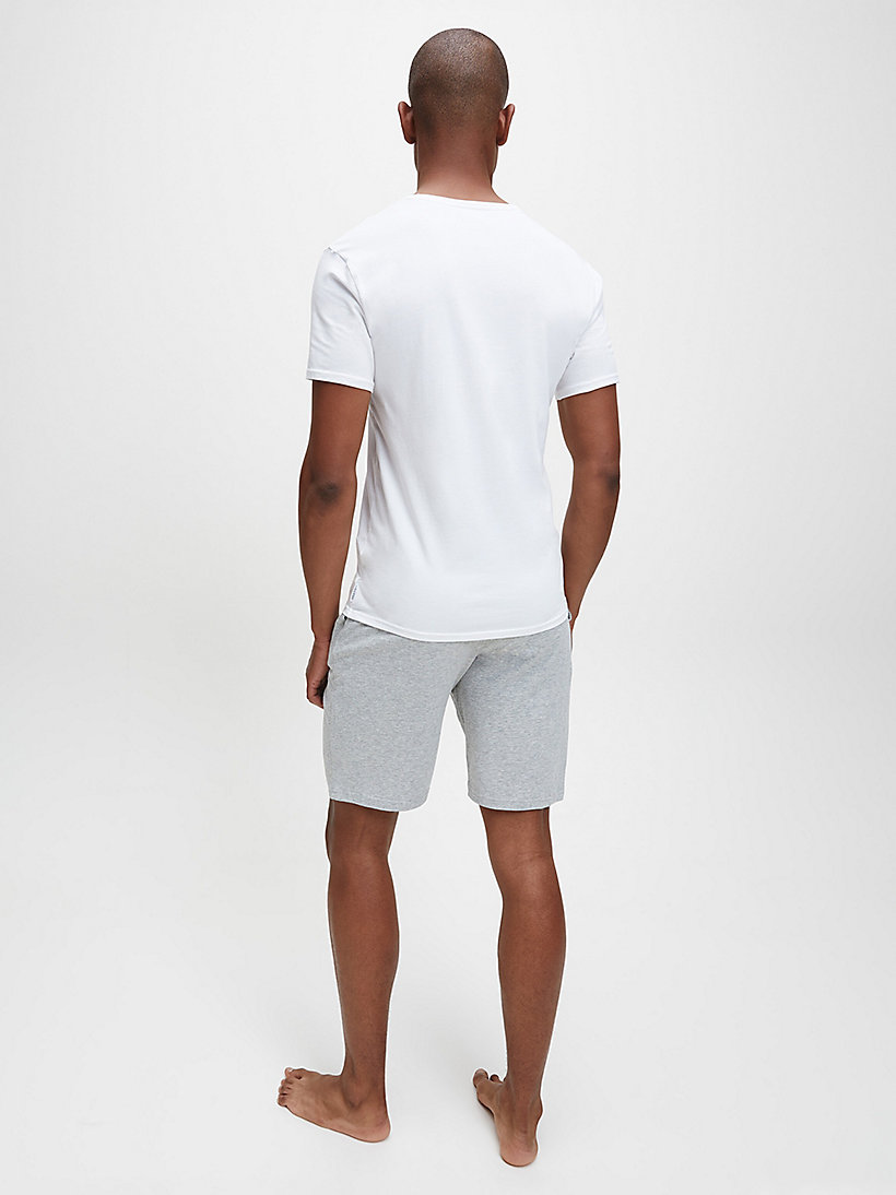 CALVINKLEIN 2 Pack T-shirts - Modern Cotton - WHITE - CALVIN KLEIN MEN - detail image 2