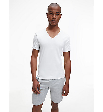 CALVIN KLEIN 2 Pack T-shirts - Modern Cotton 000NB1089A100