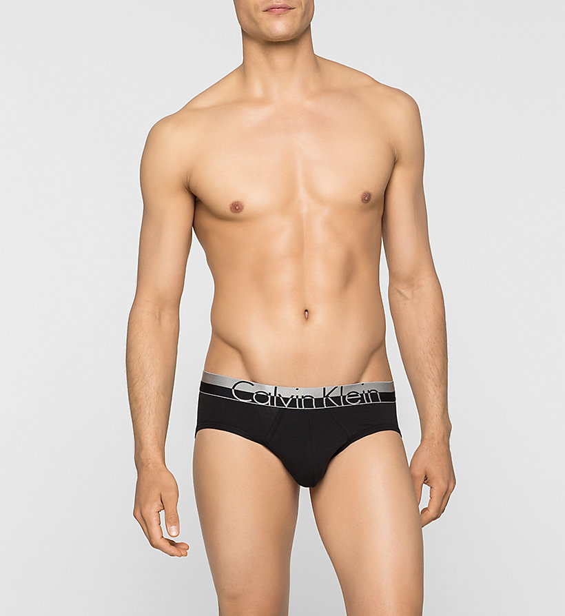 CALVINKLEIN Hip Briefs - Magnetic - BLACK - CALVIN KLEIN UNDERWEAR - main image