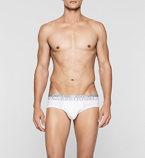 CALVINKLEIN Hip Briefs - Magnetic - WHITE - CALVIN KLEIN BRIEFS - main image