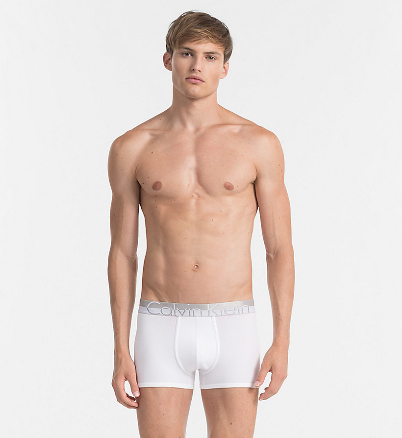 CALVINKLEIN Trunks - Magnetic - WHITE - CALVIN KLEIN UNDERWEAR - main image
