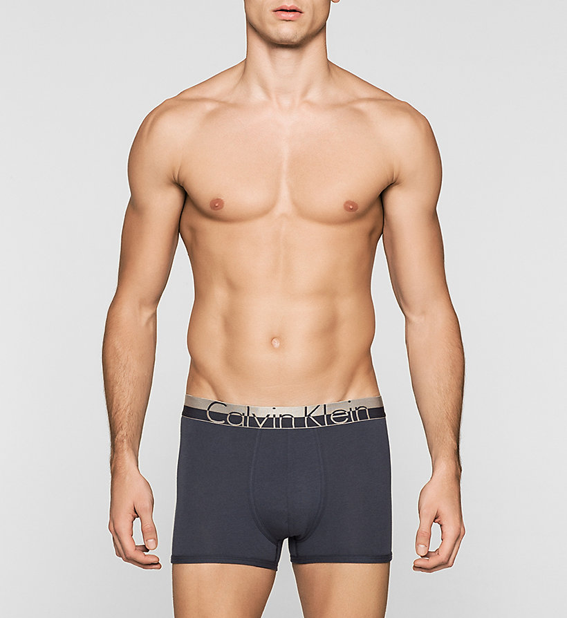 CALVINKLEIN Trunks - Magnetic - CARBON BLUE - CALVIN KLEIN UNDERWEAR - main image