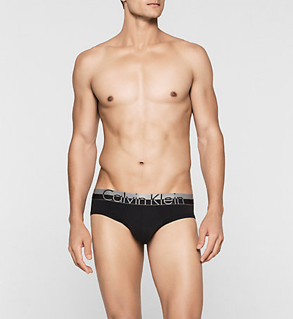 CALVIN KLEIN Hip Briefs - Magnetic 000NB1094A001