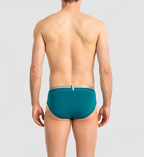 CALVINKLEIN Hip Briefs - Magnetic - EMERALD SEA - CALVIN KLEIN MEN - detail image 1