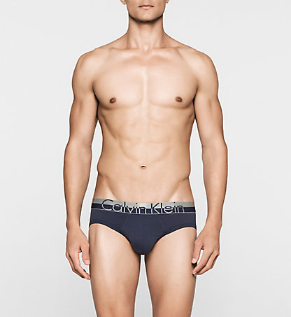 CALVIN KLEIN Hip Briefs - Magnetic 000NB1094A8SB
