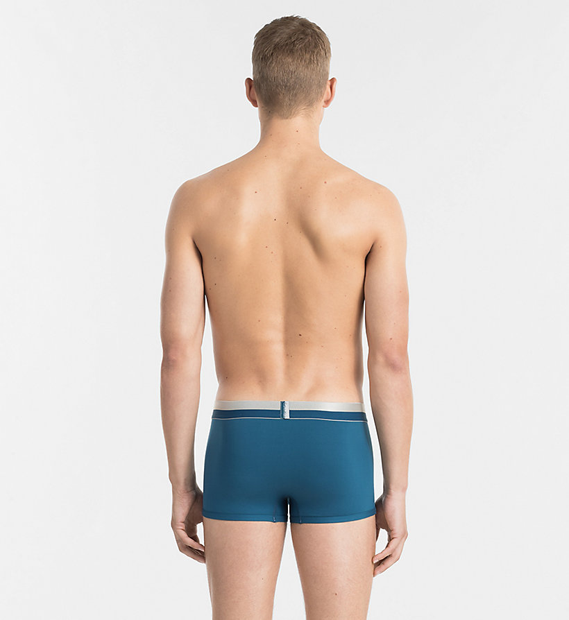CALVINKLEIN Low Rise Trunks - Magnetic - FOUNTAIN - CALVIN KLEIN MEN - detail image 1