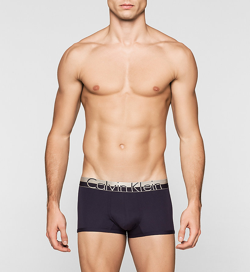 CALVINKLEIN Low Rise Trunks - Magnetic - FEDERAL - CALVIN KLEIN UNDERWEAR - main image