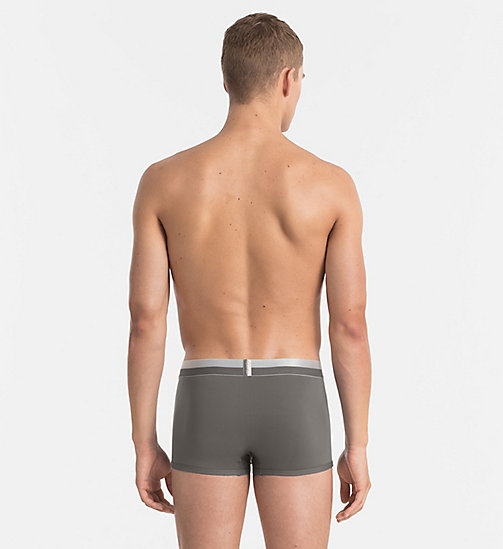 CALVINKLEIN Low Rise Trunks - Magnetic - GREY SKY - CALVIN KLEIN MEN - detail image 1