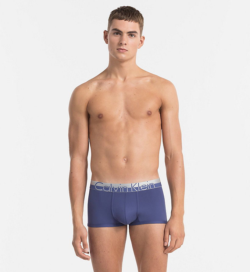 CALVINKLEIN Low Rise Trunks - Magnetic - PLACID - CALVIN KLEIN MEN - main image