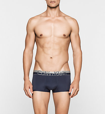 CALVIN KLEIN Low Rise Trunks - Magnetic 000NB1095A8SB